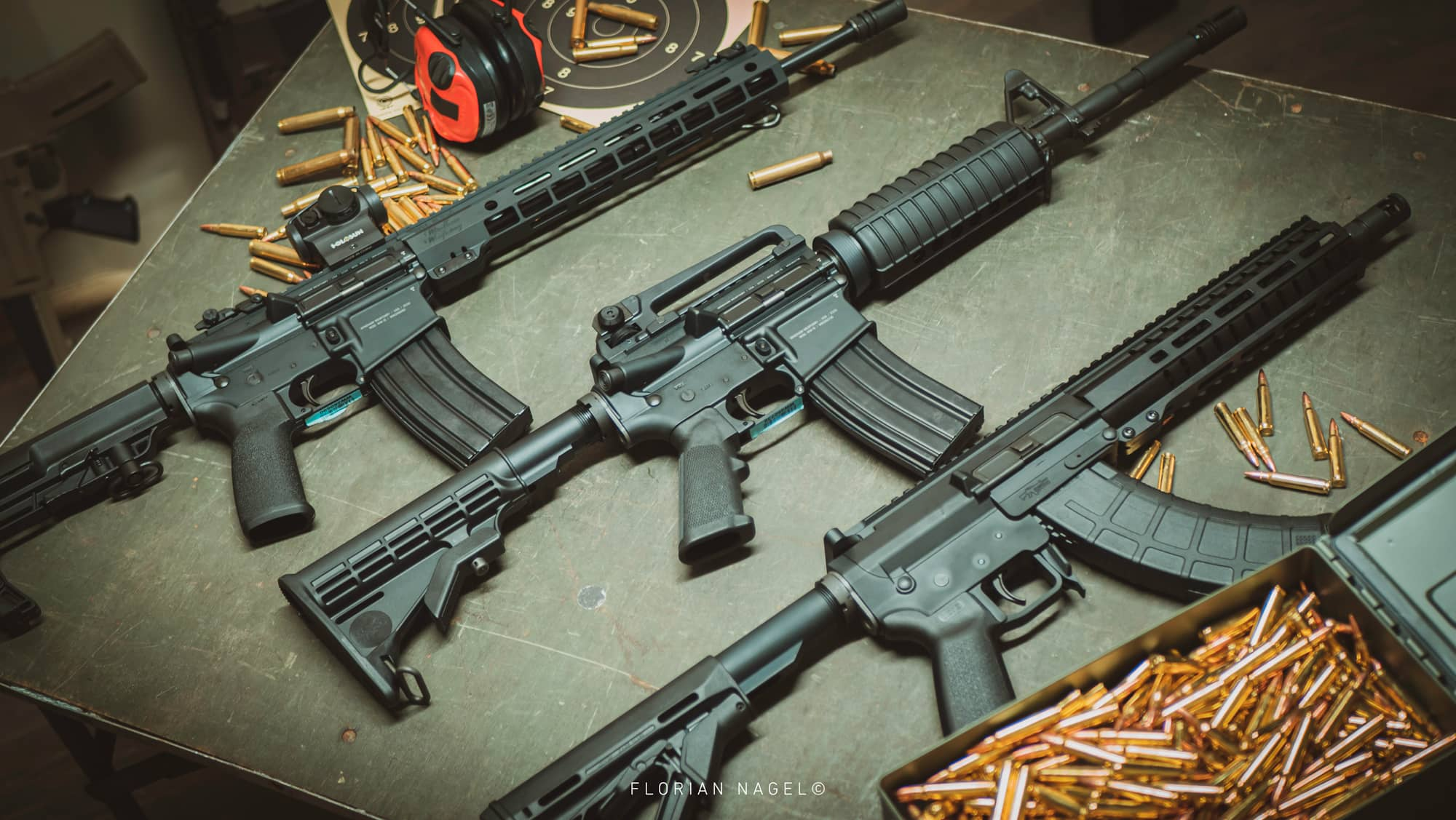 Armes de tir neuves