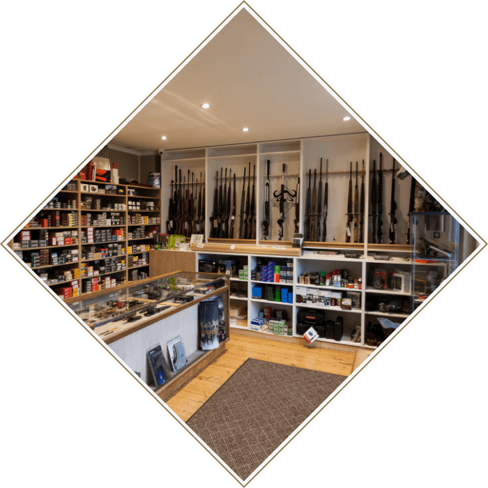 Espace boutique armurerie Buffenoir