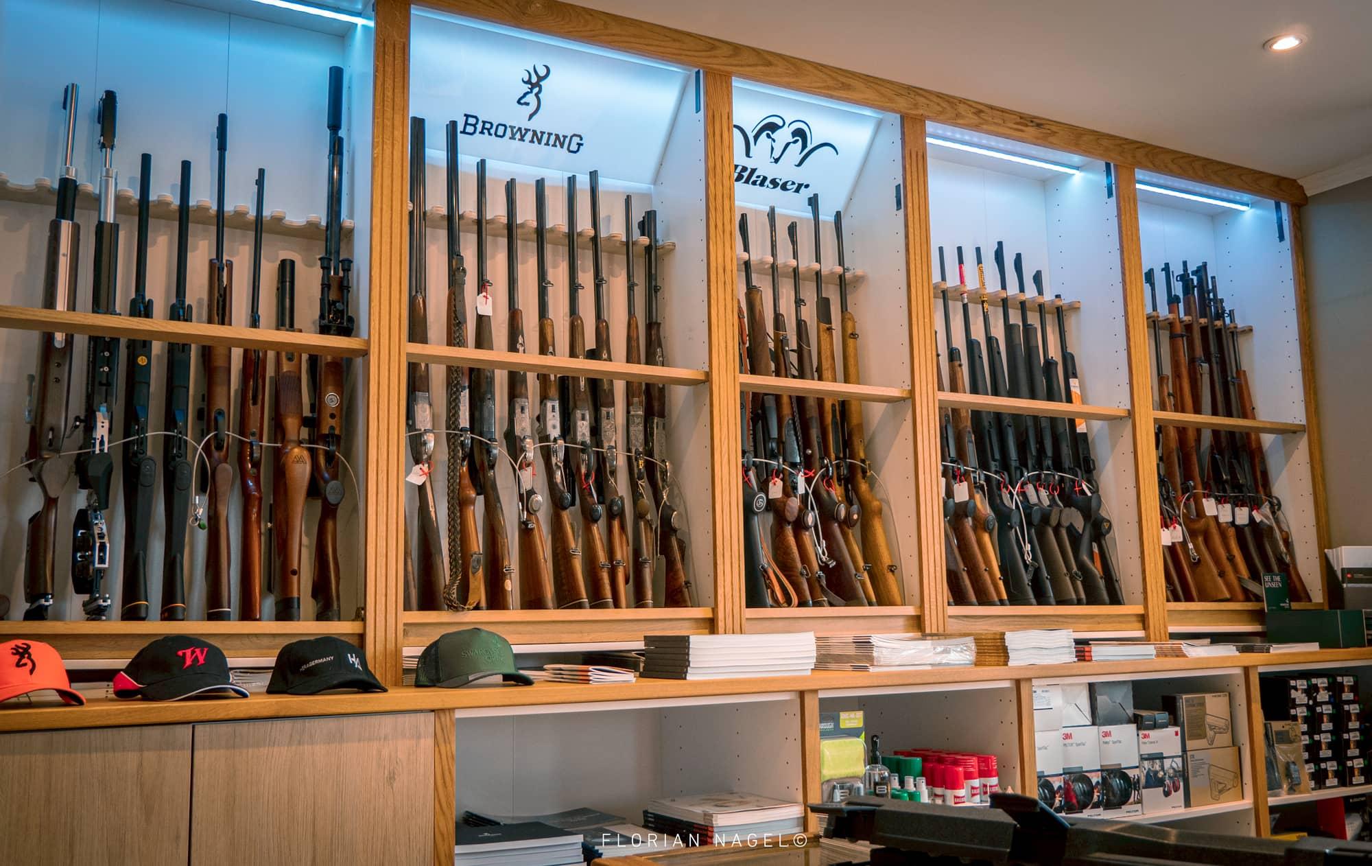 Armes de chasse neuves