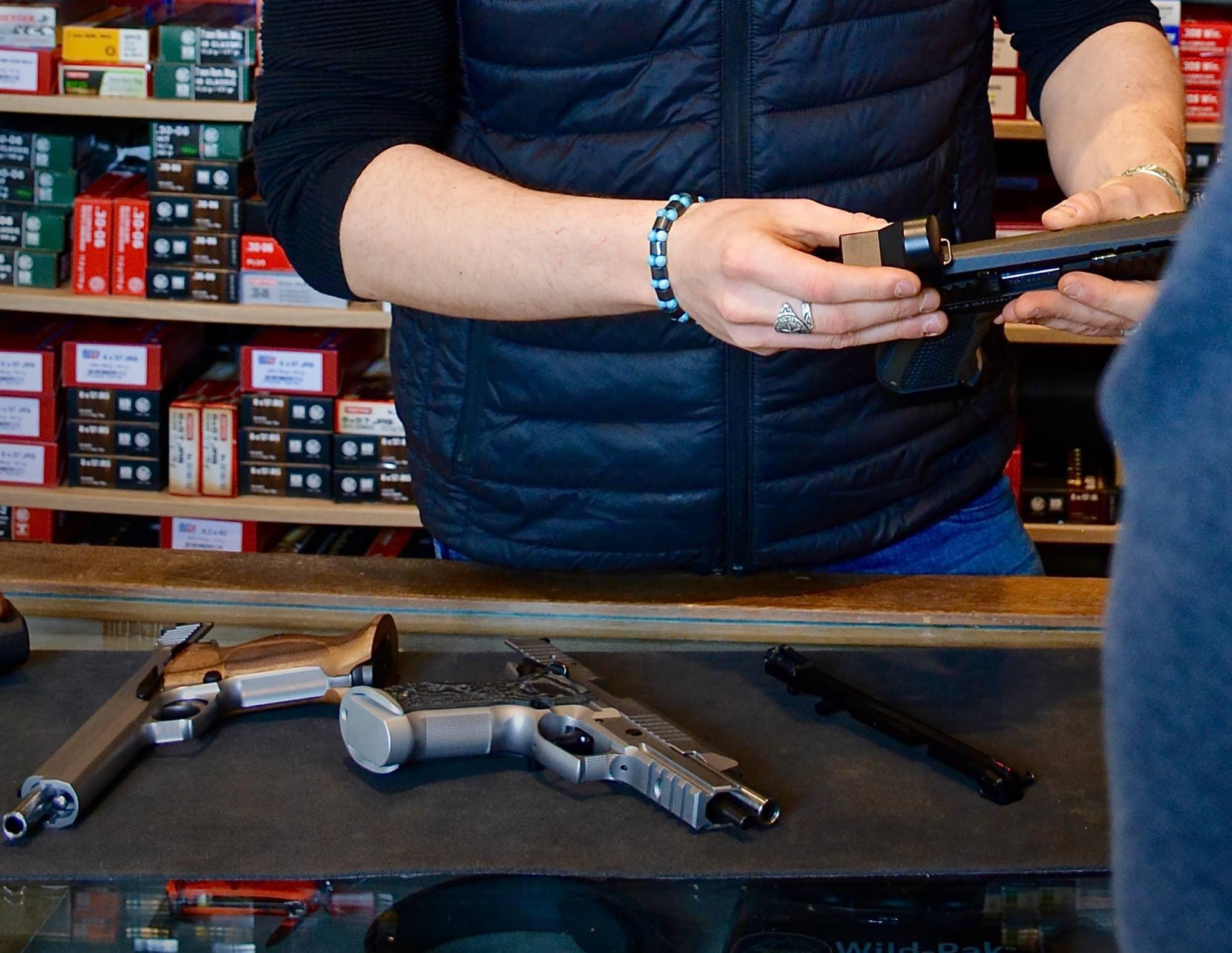 Armes de tir d'occasion